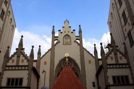 Maisel Synagogue Maiselova synagoga in the Jewish Quarter in Prague, Czech Republic