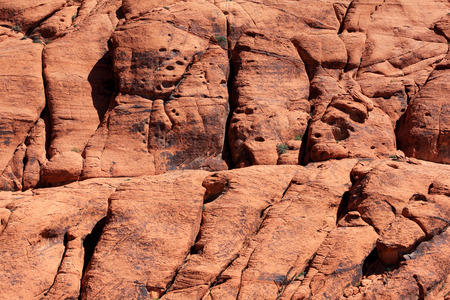 red rock national conservation area: Colorful rocks at the Red Rock Canyon National Conservation Area in Nevada, USA