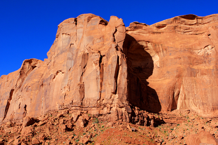 monument valley view: View of Monument Valley in Utah,  United States Of America Stock Photo