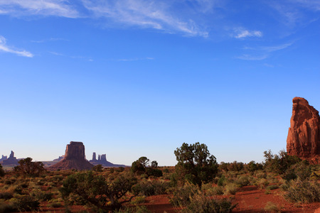View of Monument Valley in Utah,  United States Of America Stock Photo
