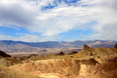 badland: Zabriskie Point, Death Valley National Park, USA