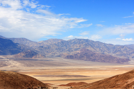 badland: View of Death Valley National Park, USA