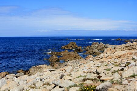 mile: 17 Mile Drive is a scenic road through Pebble Beach and Pacific Grove, California, USA
