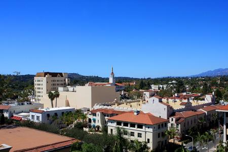 superiors: View of Santa Barbara from Superior Court, California, USA