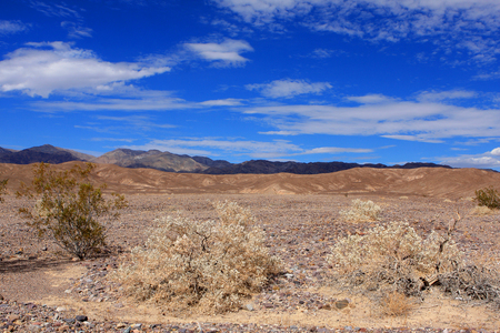 View of Death Valley National Park, USA