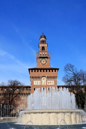sforza: Sforza Castle Castello Sforzesco is a castle in Milan, Italy, was built in the 15th century by Francesco Sforza, Duke of Milan.