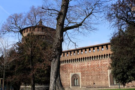 sforzesco: Sforza Castle Castello Sforzesco is a castle in Milan, Italy, was built in the 15th century by Francesco Sforza, Duke of Milan.