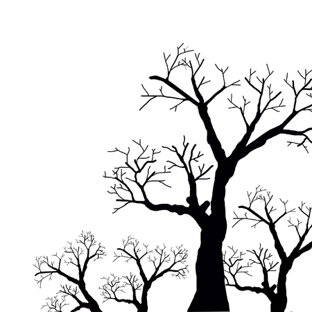 black tree  Stock Photo - 15541599