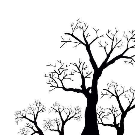 black tree Stock Photo - 15541599