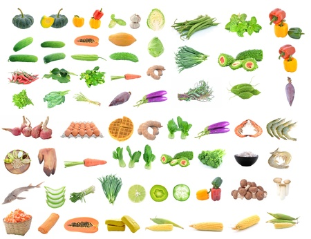 collection of food Stock Photo - 18810440