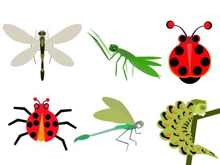 bande dessin�e d'insecte Banque d'images - 19282361