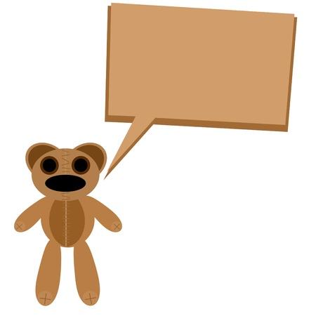floe: Baby bear cartoon waving