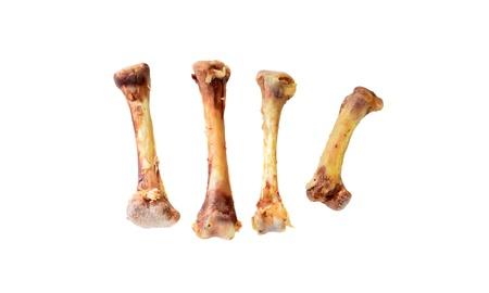 Chicken bones.