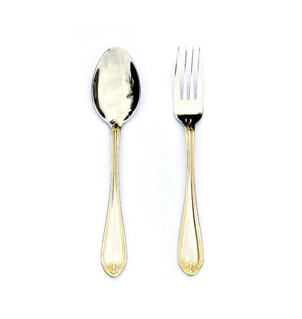 spoon on white photo