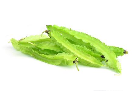four chambers: Young Winged Beans ;Psophocarpus tetragonolobus Linn.