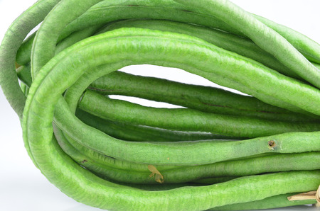 long bean: Yard Long bean Stock Photo