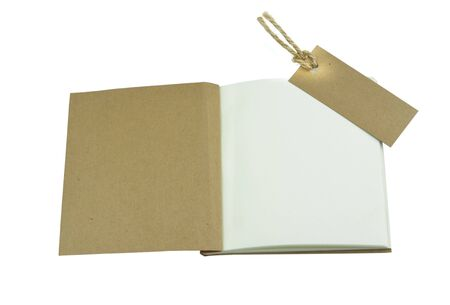 scratchpad: notebook isolated on white background Stock Photo