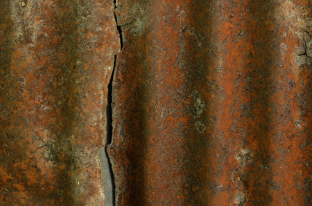 heavy effect: rusty iron background Stock Photo