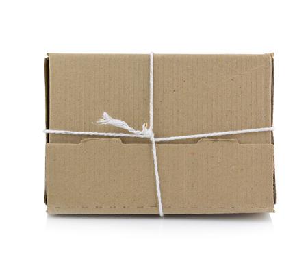 despatch: Brown mail package parcel wrap