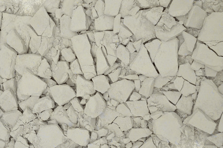 cracked concrete: Cracked concrete wall