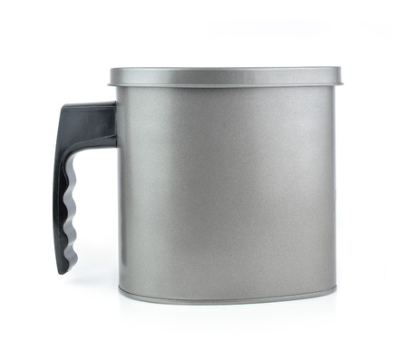 oilcan: Oilcan isolated on white