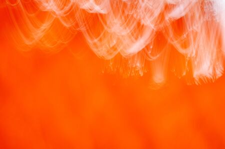 futurist: Orange background