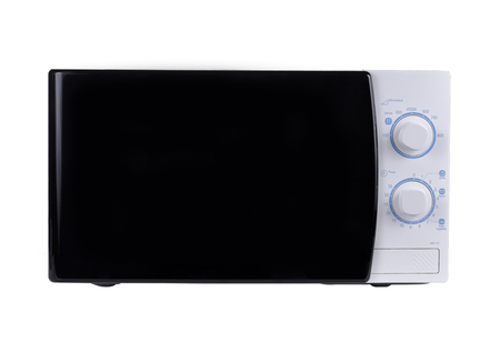 defrost: microwave  isoalted on white background Stock Photo