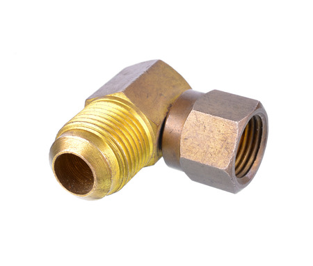 threaded: Threaded Copper pipe fitting