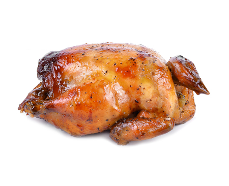 whole chicken: Roasted whole chicken
