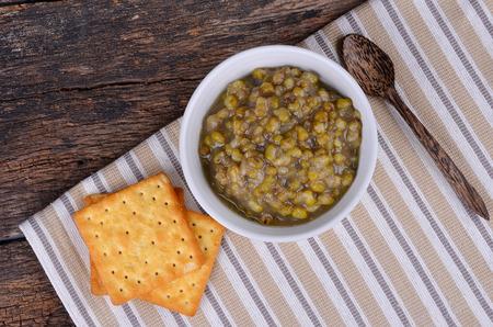 mung: Mung bean soup
