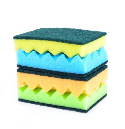 lavar platos: esponja para lavar platos