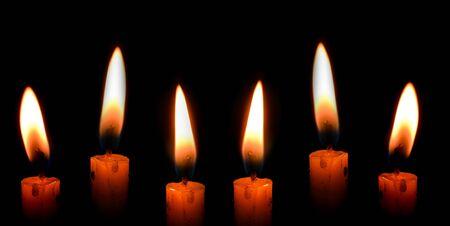 candlelight Archivio Fotografico
