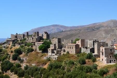 mani: Traditional landscape in Mani, Greece