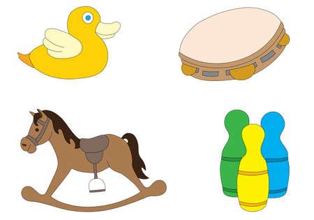 schommelpaard: speelgoed