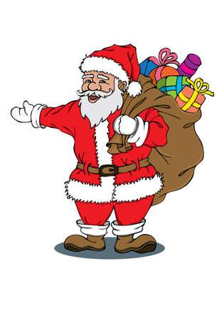 Santa Claus Stock Vector - 12018347