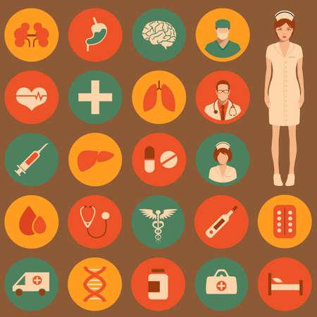 medical icon illustration