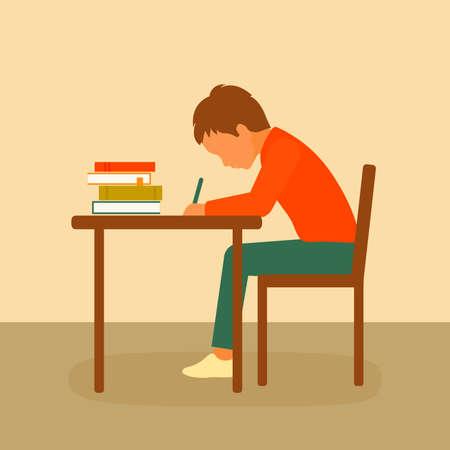 school classroom, kids education, desk study