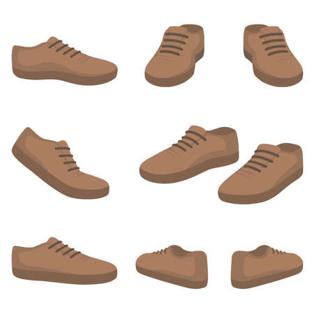 Casual male shoes.