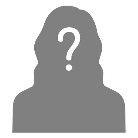 Anonymous person icon.