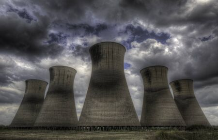 cooling towers: Cooling towers in Derby