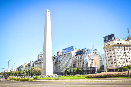 buenos: BUENOS AIRES - ARGENTINA: The Obelisk in Buenos Aires, Argentina