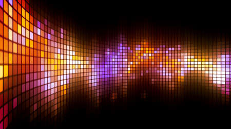 fash: Abstract colorful led screen background for party,holidays,fash ion,dance and celebration. 8K Ultra HD Resolution at 300dpi Stock Photo