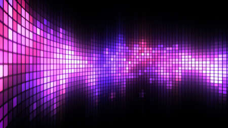 Abstract colorful led screen background for party,holidays,fash ion,dance and celebration. 8K Ultra HD Resolution at 300dpi Stock Photo
