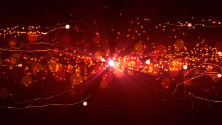 vj: Abstract Background with glittering light particles and streaks. 8K Ultra HD Resolution at 300dpi