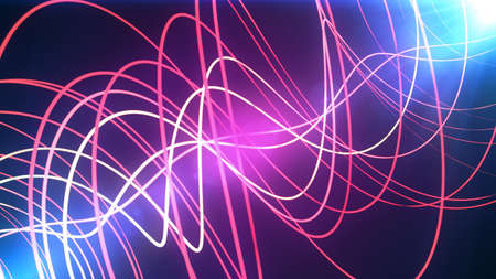 vj: Glowing Lines abstract background for partyholidays and celebration. 8K Ultra HD Resolution at 300dpi