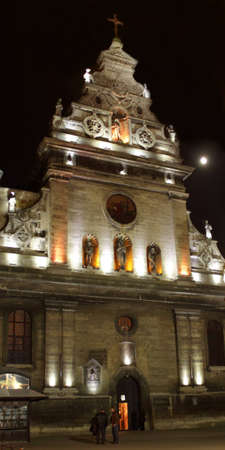 review site: Catholic Church in historical Lviv