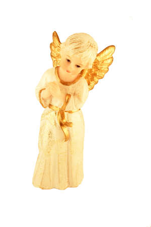 Christmas angel of figurine photo