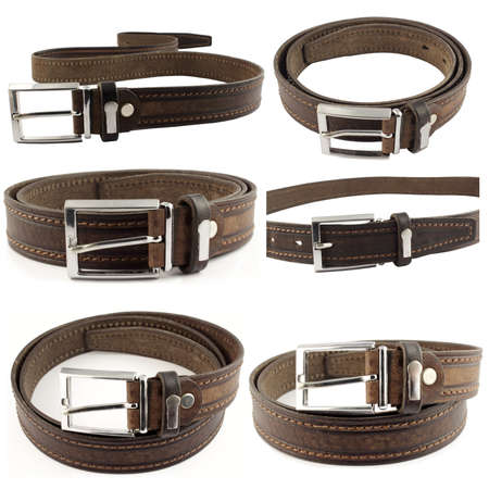 leather belts photo