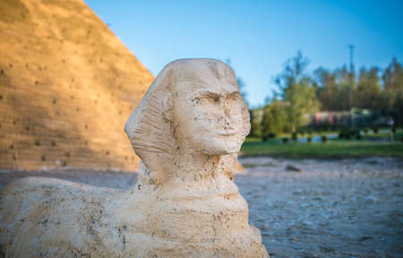 sphinx: simulation of sphinx Stock Photo