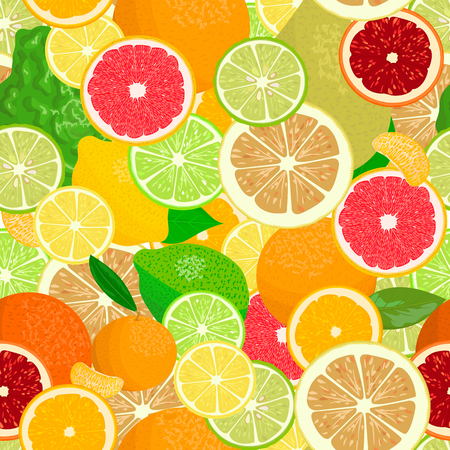 odorous: Juicy Citrus fruits set. Bright and vivid. Yellow, orange, red, green. Whole and slices